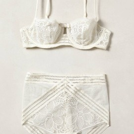 anthropologie.com - Faenza High-Waist Briefs