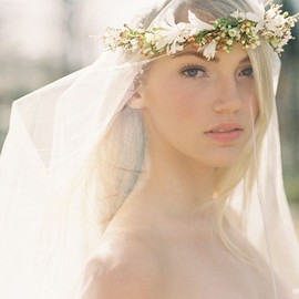 WEDDING - Flower Crown and Veil