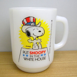 Fire King - Snoopy president no.3