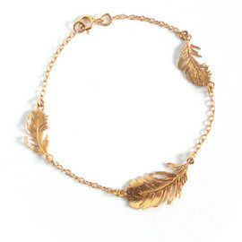 Alex Monroe - Feather bracelet