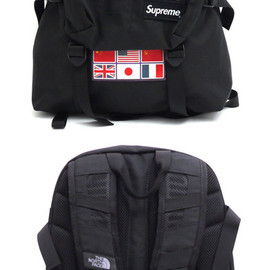 SUPREMExTHENORTHFACE - ExpeditionMediumDayPackBackpack(バックパック)BLACK276-000190-011+【新品】【smtb-TD】【yokohama】