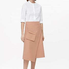 COS - Wrap skirt with front pocket