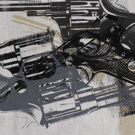 "ANDY WARHOL  - ""Five Guns"" 1983"