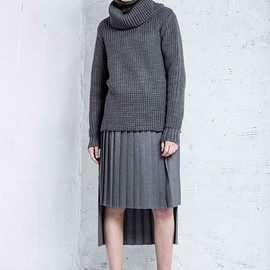 CINOH - Layer high neck knit