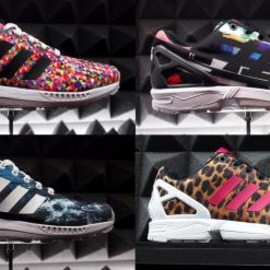 adidas - ADIDAS ZX FLUX MULTI-COLOR & GRAPHIC