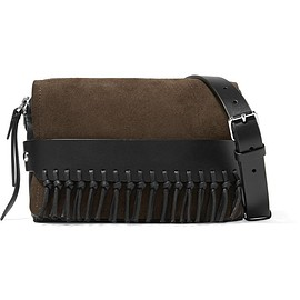 3.1 Phillip Lim - Bianca small fringed suede and leather shoulder bag