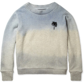 Sun and Moon Intarsia Cashmere Sweater