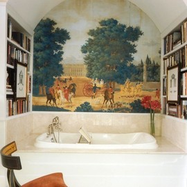 Sroka Design, Inc - traditional bathroom