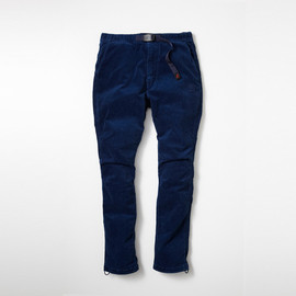 SOPHNET., nonnative - SOPHNET. × nonnative CLIMBER EASY PANTS C/P CORD STRETCH by GRAMICCI OVERDYED with RYUKYU INDIGO