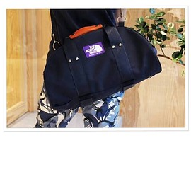 THE NORTH FACE PURPLE LABEL - 3way duffle bag (bk)