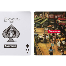 Supreme, Bicycle® - Classic Scene Bicycle Playing Card