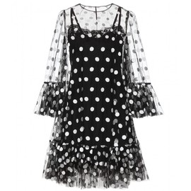 DOLCE&GABBANA - Resort2015 Polka-dot tulle dress