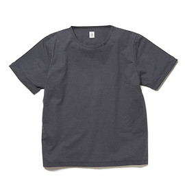 HEAD PORTER PLUS - ROLL UP TEE GREY