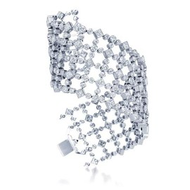 HARRY WINSTON - Lattice Bracelet