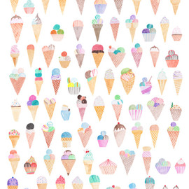 Michelle Hammenfeldt - 100 ice-creams