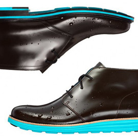 Cole Haan - Waterproof & Reflective Cooper Square and Lunargrand Chukkas
