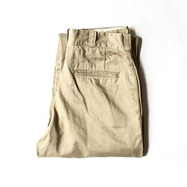 used - 1970s U.S.Army cotton chino