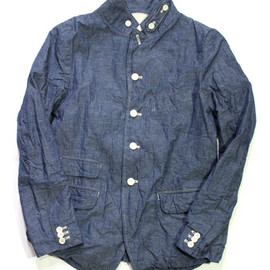 A VONTADE - OLD POTTER CHAMBRAY JACKET