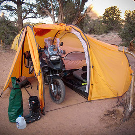 Redverz - Tenere Motorcycle Expedition Tent