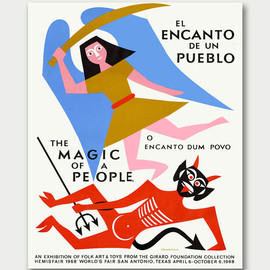 Alexander Girard - The Magic of a People Exhibition Poster, 1968