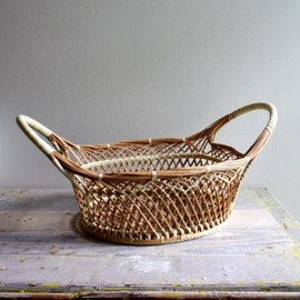 Vintage Gathering Basket