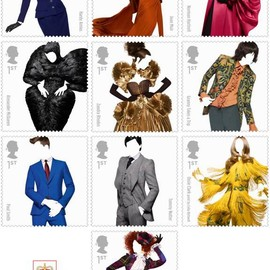 Solve Sundsbo - Royal Mail British Fashion Designer Stamps