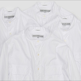 INDIVIDUALIZED SHIRTS, BEST PACKING STORE - BAND COLLAR LOOSE SHIRTS