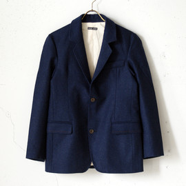 FRANK LEDER - BLUE BAVARIAN LODEN WOOL JACKET