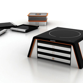YANKO DESIGN - All-In-One Compact Cooking