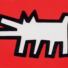 Keith Haring - Icons 2 (1990, 53.3x63.5, edition of 250)