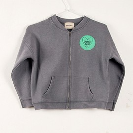 Bobo choses - Sweat shirt zip Apple Pie