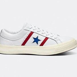 CONVERSE - Converse One Star Academy OX - White/Blue/Red