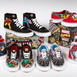 VANS - MARVEL COMICS × VANS COLLECTION