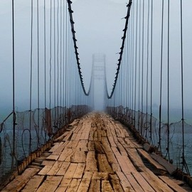 Northern Ireland - Plank Bridge, Cascille
