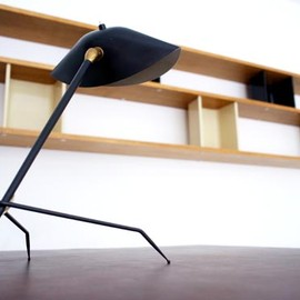 Serge Mouille - Tripod Table Lamp, 1954