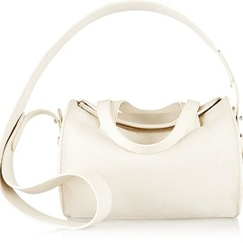 The Row - Drum 10 pebbled-leather shoulder bag
