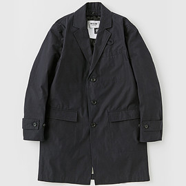 Anna - TRENCH COAT #d.navy/ristretto