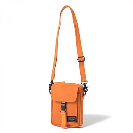 "HEAD PORTER - ""ARNO"" TRAVEL POUCH ORANGE"