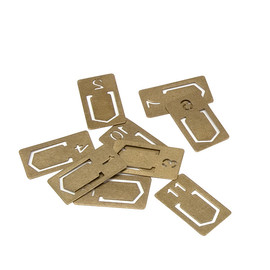 MIDORI - BRASS PRODUCTS Clip Number
