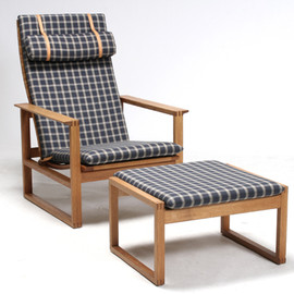 borge mogensen - high back easy chair