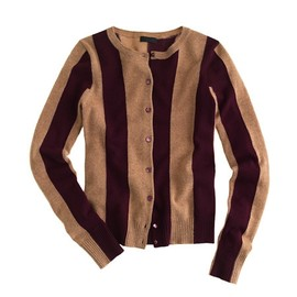 J Crew - J Crew/COLLECTION CASHMERE CARDIGAN IN WIDE STRIPE