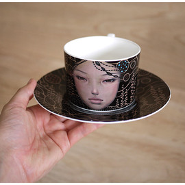 Click for Art - 'You Come First' Limited Edition Cup & Saucer