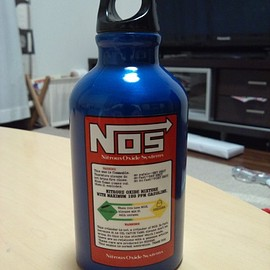 NOS - Nitrous Oxide System 水筒 ミニボトル