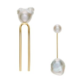SOPHIE BILLE BRAHE - Hair piece & Pierced earring