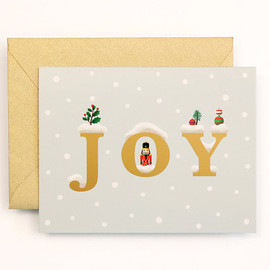 Clap Clap - NEW JOY Christmas Card for Holidays - Snow