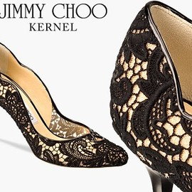 JIMMY CHOO - KERNEL Lace Pumps