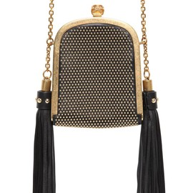 Alexander McQueen - MICRO STUDDED LEATHER SHOULDER BAG