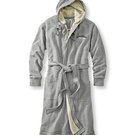 L.L.Bean - Rugby Robe, Fleece Lined