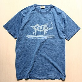 The Endless Summer - 「TES/BUHI INDEIGO TEE」