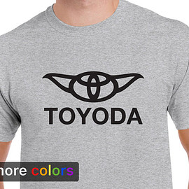 Star Wars TOYODA, - Star Wars TOYODA, Toyota Yoda Mens T-shirt Tee, Camry 4Runner Darth Vader R2D2